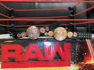 WWF-WWE-Elite-Mattel-Wrestling-Figure-Title-Belts-Rare-Raw-Tag-Team