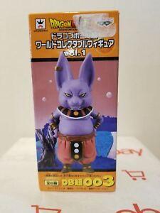 **Legit** Dragon Ball Super Authentic PVC Keychain God Destruction Champa #85466