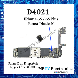 D4021-Iphone 6S//6S Plus refuerzo de luz posterior Diodo