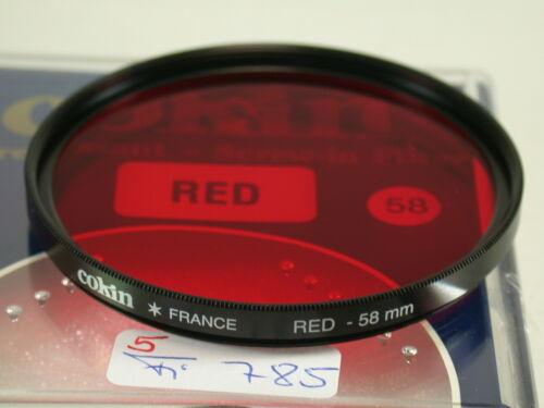 5 Original Cokin Filter Foto Photo Lens Rot Red 58mm 58 E58 FI785
