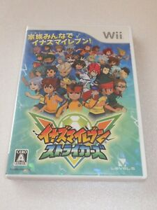 Nintendo Wii Inazuma Eleven Strikers Game Import Japan Ebay