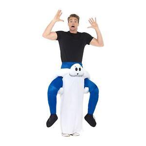 adulto-Piggy-Back-Fantasma-Costume-Halloween-Ride-On-Scegli-Me-Up-Vestito