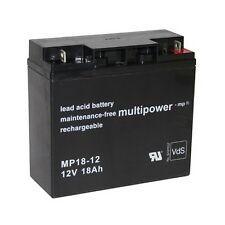 Blei-Gel Akku MP18-12 bgl SBB Sunbright  6-FM-18 6-FM-17 6-Gfm-180 Accu Batterie