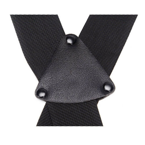 Tactical X-Back Suspenders Military Duty Belt Harness Strap for Hunting Airsoft