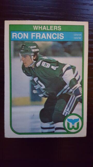 1982 83 O PEE CHEE Ron Francis 123 Hockey Card