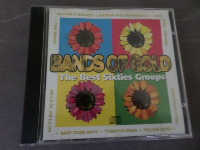 VARIOUS ARTISTS-BANDS OF GOLD- THE BEST SIXTIES GROUPS (1995) CD