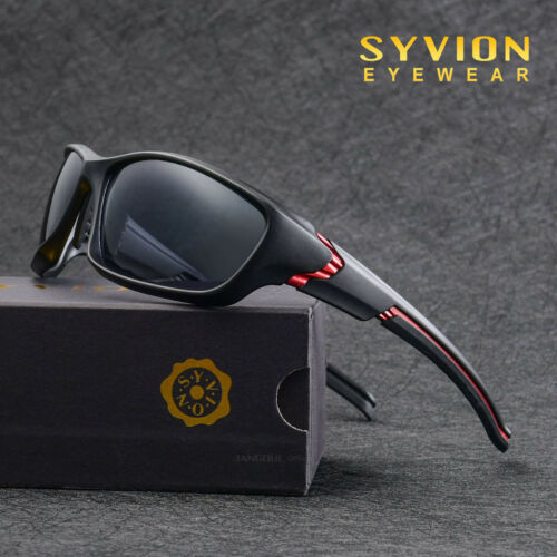 Mens Polarized Sport Cycling Sunglasses Goggles UV400 Driving Fishing Glasses