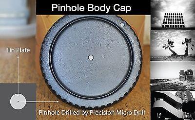 Nikon F pinhole body cap LOMO } D 40 X 50 60 70 S 80 90 100 200 300 600 Camera
