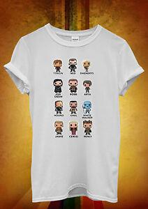 AgréAble Jeu Des Trônes Tyrion Khaleesi Drôle Hommes Femmes Unisexe T Shirt Débardeur Débardeur 59-afficher Le Titre D'origine Douceur AgréAble