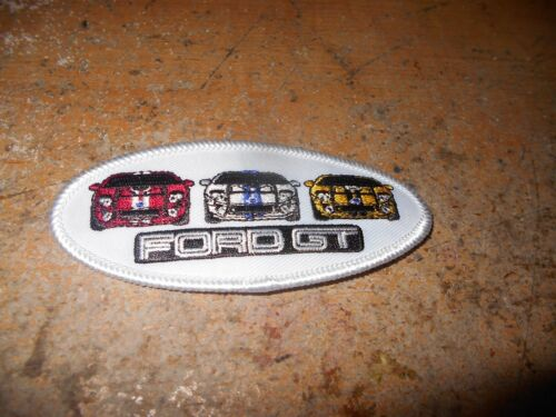 FORD GT GT40 FORD GT DEALERSHIP PROMOTIONAL JACKET SHIRT HAT PATCH NEW 4 INCH