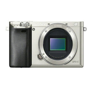 sony ilce 6000. image is loading sony-ilce-6000-alpha-a6000-camera-silver-body- sony ilce 6000 r