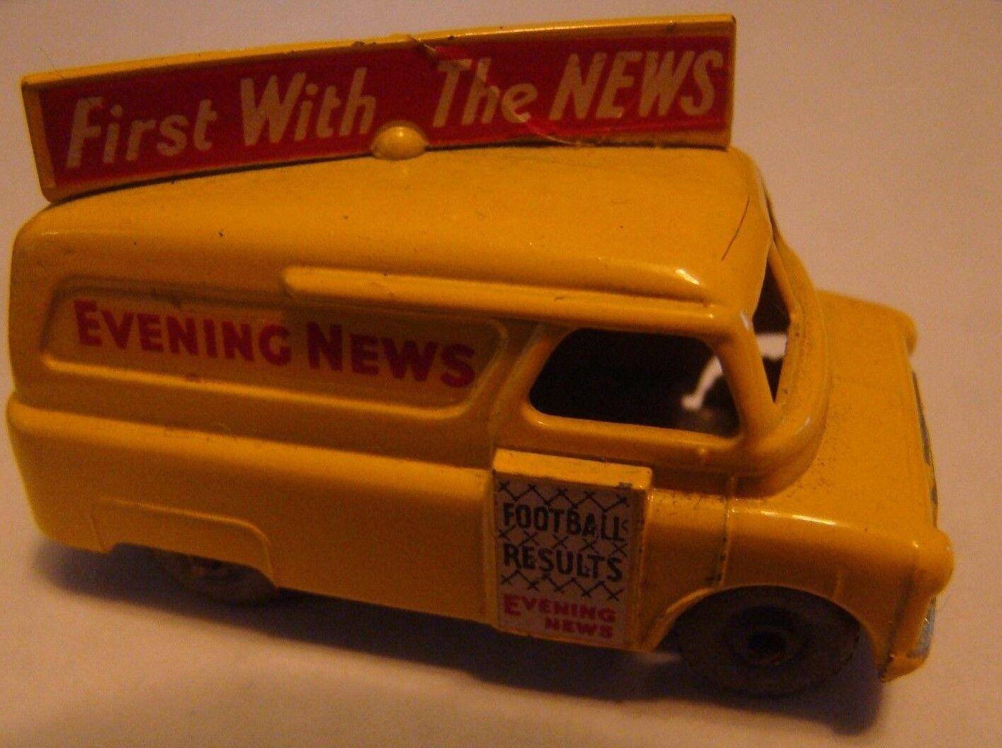 Matchbox Regular Rueda 42 bis Bedford Evening News Van Mw 1957