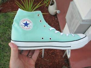 0fc0e7ea8bc68f Converse ALL STAR CHUCK TAYLOR BEACH GLASS MINT GREEN HI TOPS ...
