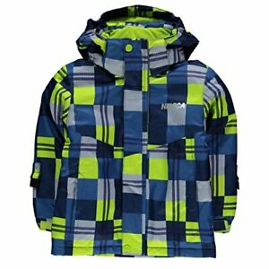 Nevica-Junior-Boys-Lech-Ski-Jacket-Coat-Blue-Green-Size-5-6-Years-Ref180