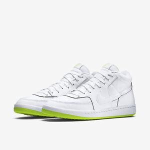 Image is loading Men-039-s-Nike-Challenge-Court-Mid-White-