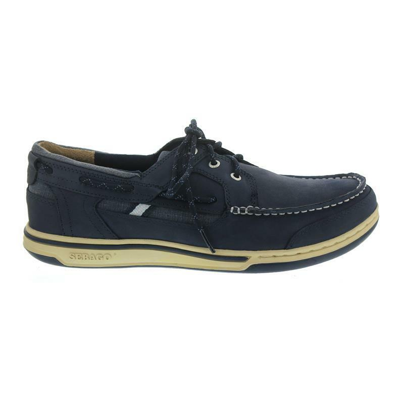 Sebago Triton Three-Eye, Full-Grain Leather, Blau Navy 70004Z0-908