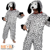 Dalmation Dog Kids Fancy Dress Child Boys Girls Animal Costume Outfit Kids 3-11