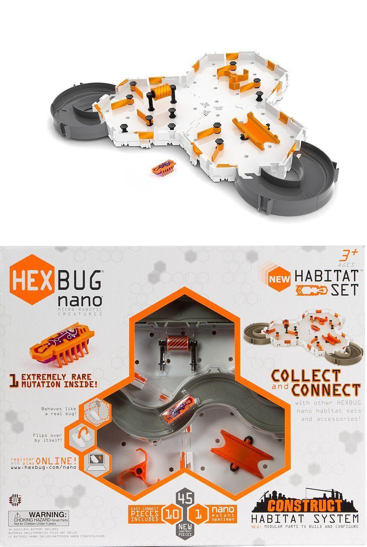 Hexbug Robot Gioco Treno costrutto habitat Set Nano krabbelkäfer HEX BUG Toybot