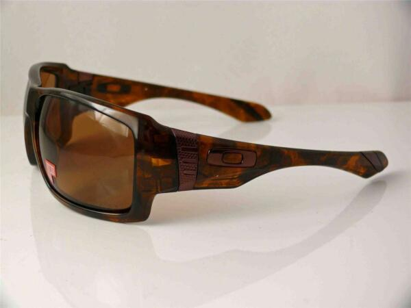 fa6ca73203a Oakley Polarized Sunglasses Big Taco Brown Tortoise Bronze 009173-05 ...