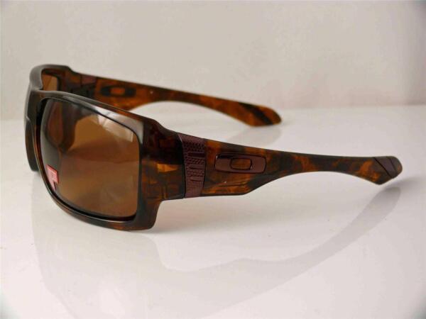 fa6ca73203a Oakley Polarized Sunglasses Big Taco Brown Tortoise Bronze 009173-05 ...