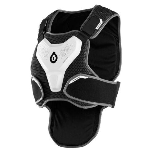 661 Motocross MX MTB Fahrrad Exo Gehäuse II Schutz Kasten Rüstung Weiß//Grau