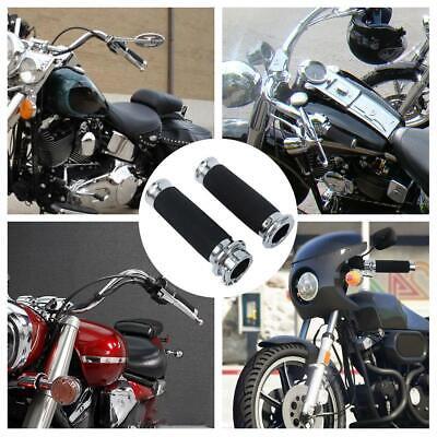 """1/"""" Handlebar Hand Grips For Yamaha V-Star Vstar XVS 650 1100 Custom Silverado"""