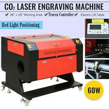 28 X 20 60w Co2 Laser Engraver Cutting Engraving Machine Laser Engraver Cutter