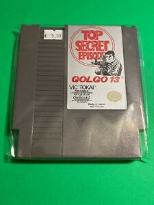 100-WORKING-NINTENDO-NES-SUPER-RARE-GAME-Cartridge-Vic-Tokai-GOLGO-13