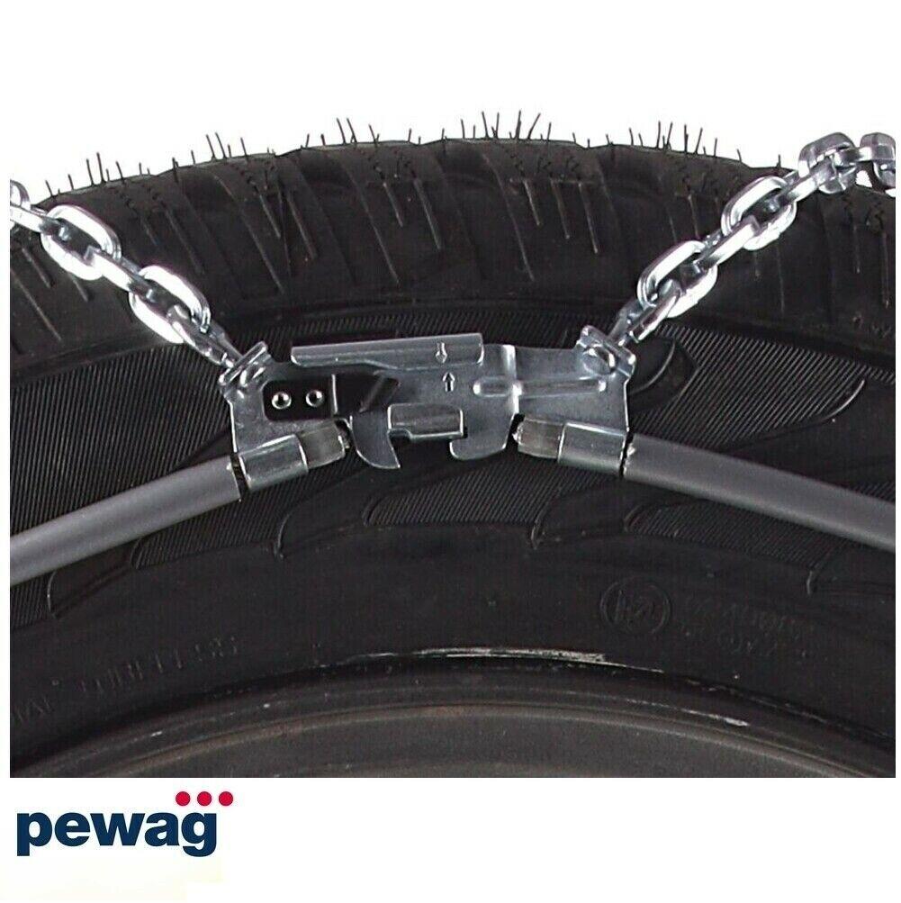 Catene da Neve Pewag Omologate SERVO 9MM RS967 RS9 67 per Pneumatici 185//55R16