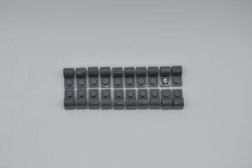 LEGO 20 x Technic Achs Pin Hülse neues dunkelgrau newdark grey plate pin 11458
