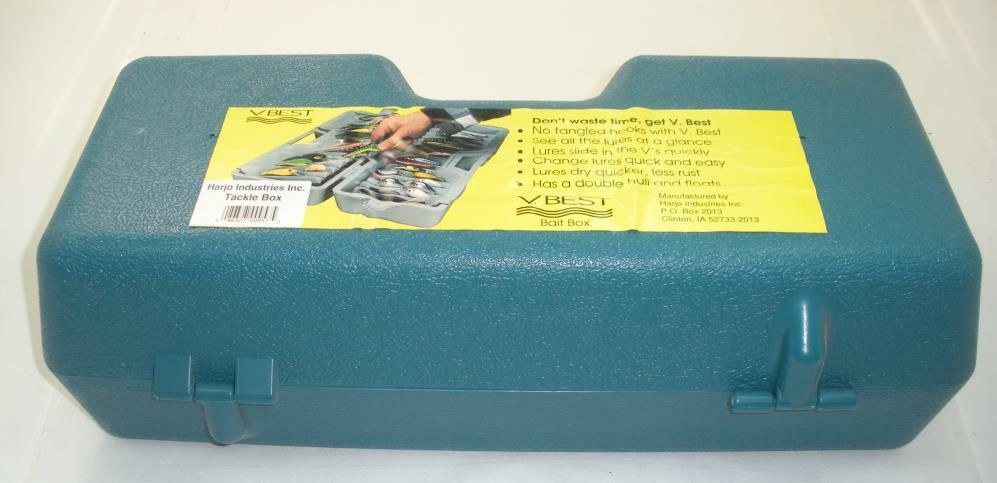 Har Jo V. Mejor Crankbait Tackle Box 22721