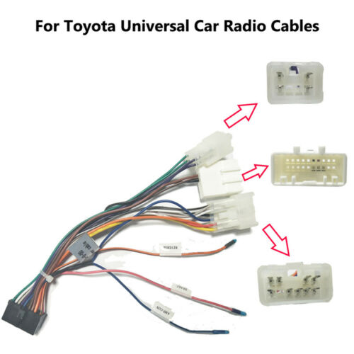 Android Wiring Harness Car Stereo Radio Connector Adapter Cable 20Pin for Toyota