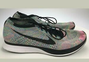 Nike-Rainbow-Flyknit-Racer-Running-Shoes-Sz-12-5-US-2-0-526628-304