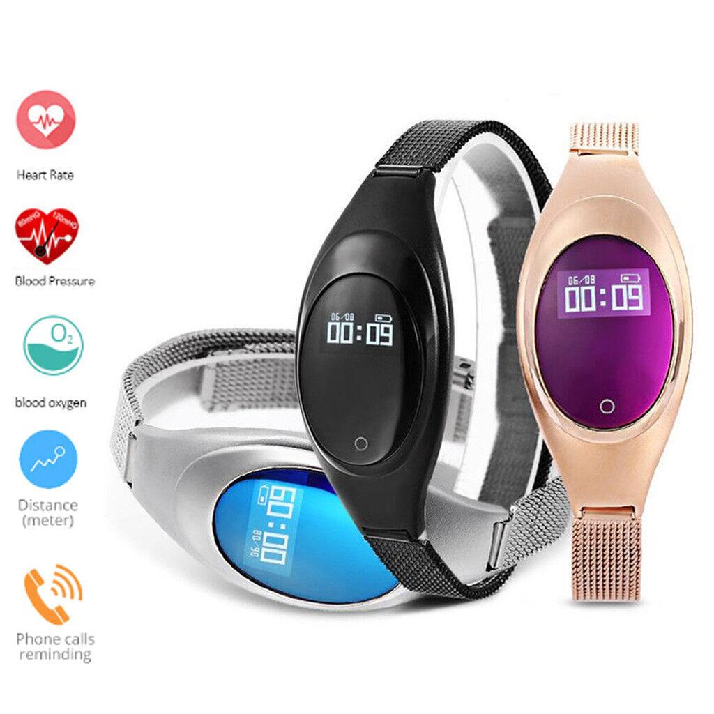 Women Bluetooth Smart Watch Heart Rate Monitor Lady Bracelet For iPhone XS XR X bluetooth bracelet Featured for heart lady monitor rate smart watch women