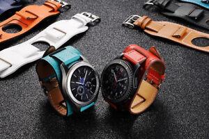 New-Genuine-Leather-Watch-Band-Cuff-Bracelet-Watch-for-Moto-360-2nd-Gen-Man-46mm