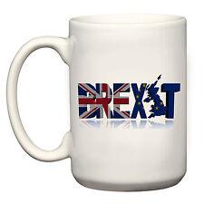 LARGE BIG MUG CUP BREXIT FLAG EU UK VOTE OUT NO EUROPE REFERENDUM LEAVE CAMPAIGN