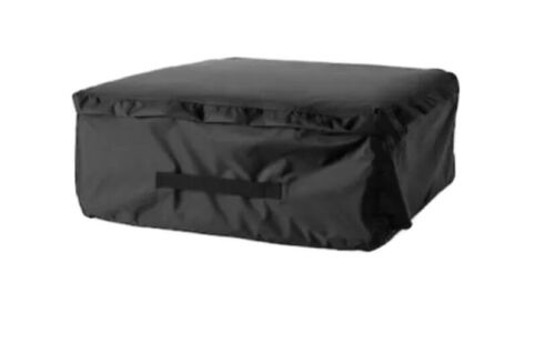 """24 3//8x24 3//8 /"""" TOSTERÖStorage bag for pads and cushions black"""