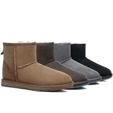 UGG Boots Women Men Australian Sheepskin Mini Classic Water Resistant Nonslip
