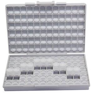 AideTek-BOX-ALL-144-Leer-Gehaeuse-Box-w-144-Faecher-jeweils-mit-Deckel-SMD-0603-R