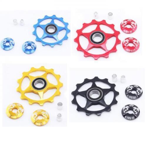 MTB Bicycle Rear Derailleur Jockey Wheel Guide Pulley 13T Pulley 4 Colors