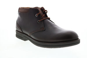 Clarks Banning Hi GTX 26151907 Mens Brown Leather Lace UP Chukkas Boots