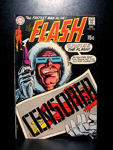 COMICS-DC-The-Flash-193-1969-Captain-Cold-amp-Heat-Wave-app-RARE-batman
