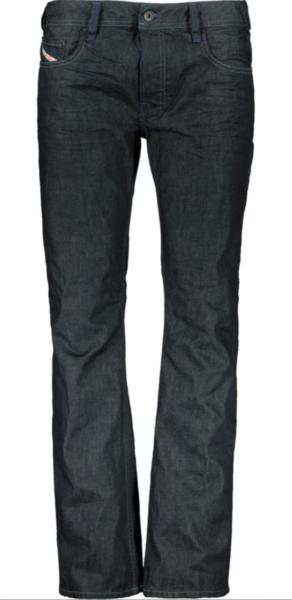 * Nuovo Con Etichette Diesel Zatiny Jeans W31 L30 Blu Indaco Lavaggio 0088z Reg Bootcut *