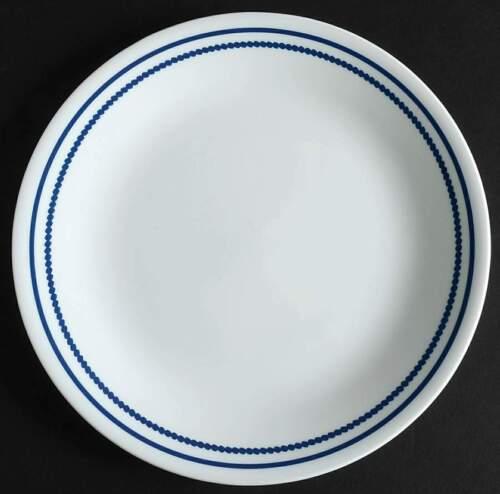 Corning BREATHTAKING BLUE BEADS Luncheon Salad Plate 10215609