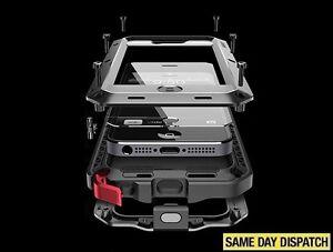 Impermeable-a-prueba-de-impactos-de-Aluminio-Gorilla-Metal-Cubierta-para-XS-MAX-XR-iPhone-6-X