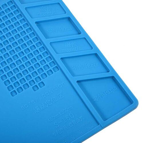 Heat-resistant Soldering Mat Silicone Heat Gun BGA Soldering Station Insulation