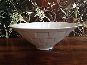 Furstenberg-Wilhelm-Wagenfeld-Bowl-Fruit-Bowl-in-White-26-0-CM
