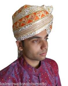 Men Safa Indian Top Hat Wedding Sherwani Turban Groom Pag Men Hat ... d80357384