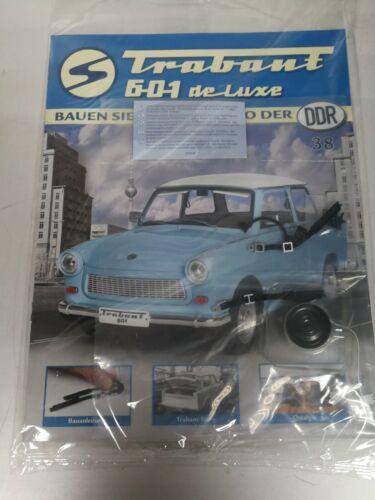 Baue das Kultauto der DDR Trabant 601 de Luxe Ausgabe 38 Gurte und Lautsprecher