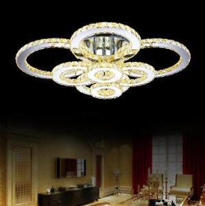 NEW-Modern-K9-Clear-Crystal-Ceiling-Light-Pendant-Lamp-Chandelier-Lighting